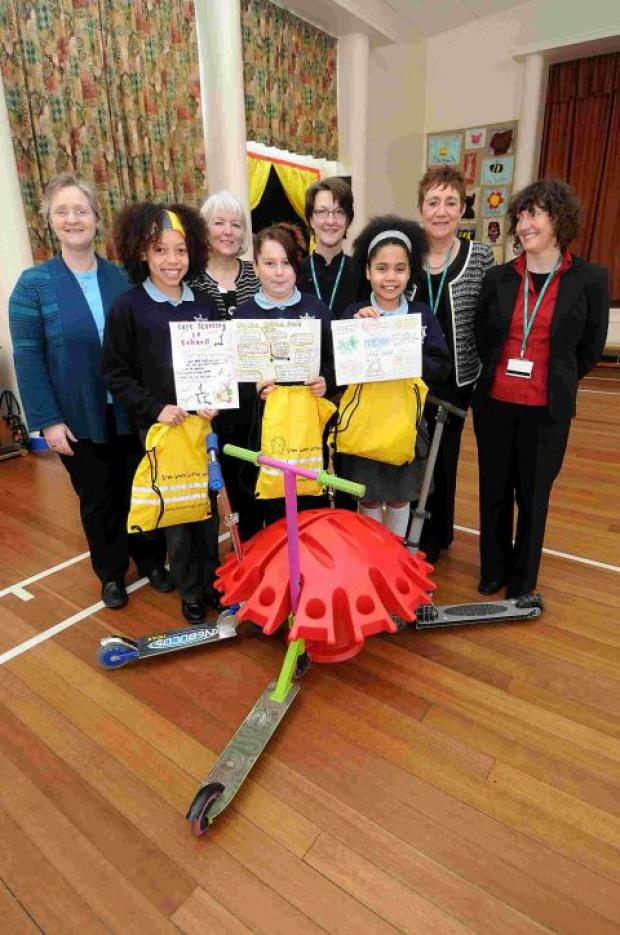 St Martin's children win scooter pod