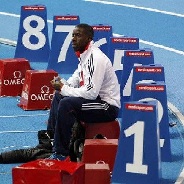 Dwain Chambers suffered an evening of disappointment at the Scandinavium Arena.