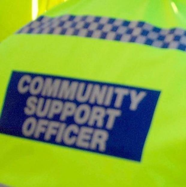 Police have arrested two community support officers in Nottinghamshire