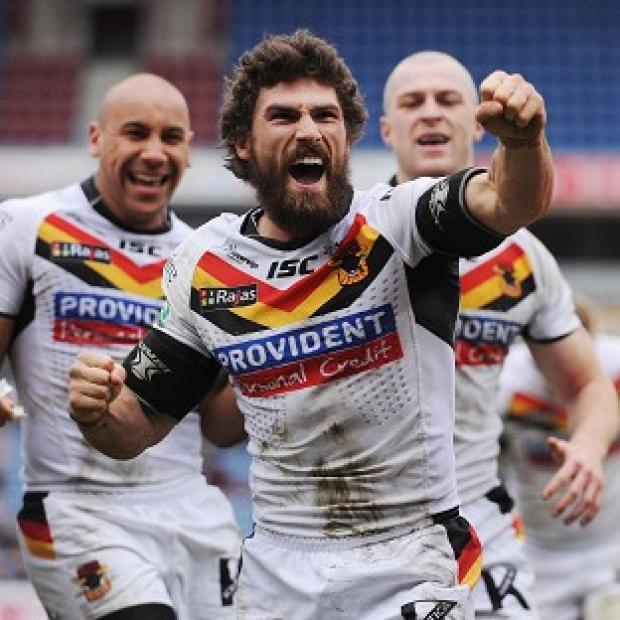 Jarrod Sammut, centre, was at the heart of a comprehensive Bradford victory