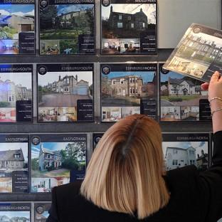 House prices saw a national uplift for the first time in nine months in February