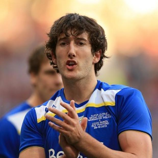 Stefan Ratchford, pictured, is happy to fill in for Lee Briers