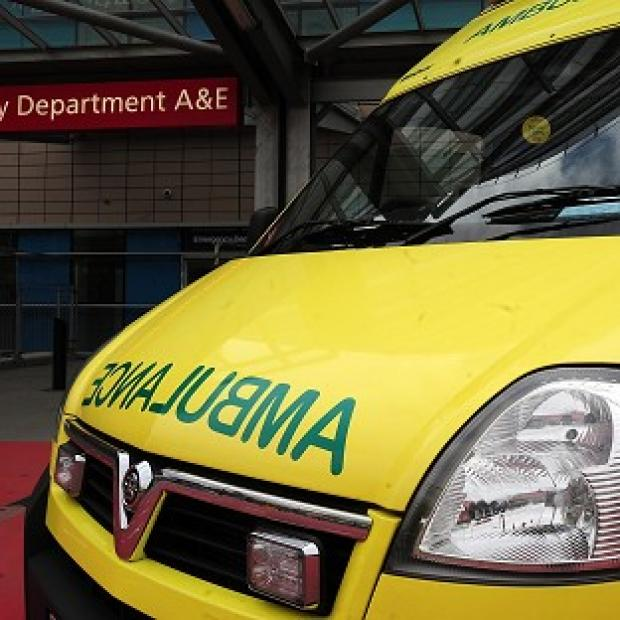The youngster suffered head injuries in the accident with the South Western Ambulance Service vehicle in Bath
