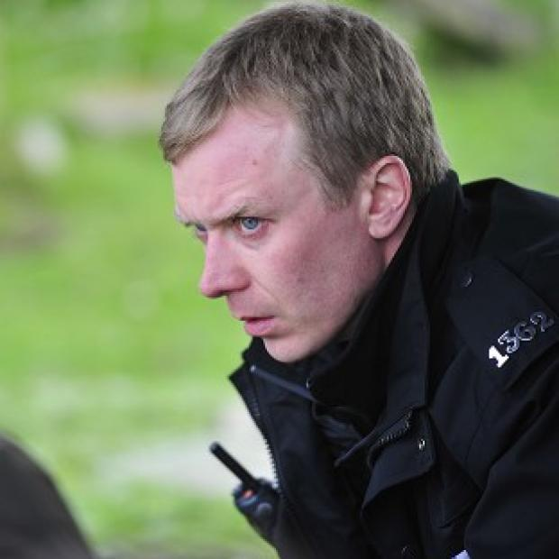Steven Robertson plays PC Sandy Wilson in new drama Shetland