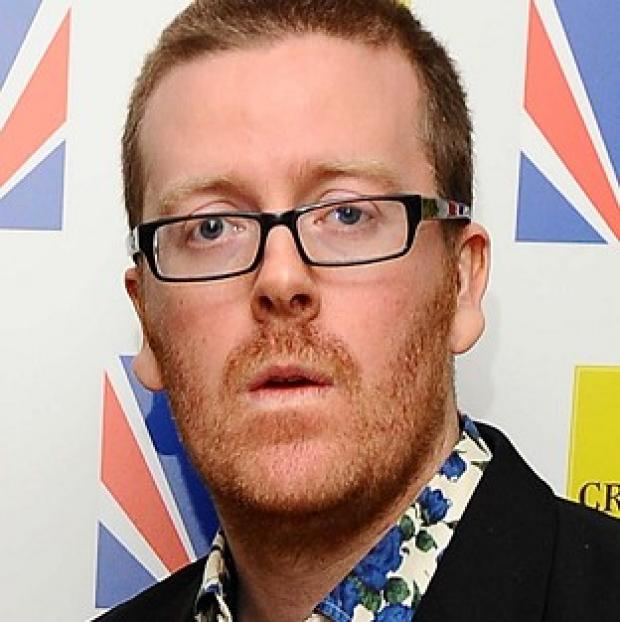 Frankie Boyle apparently made jokes about the Queen