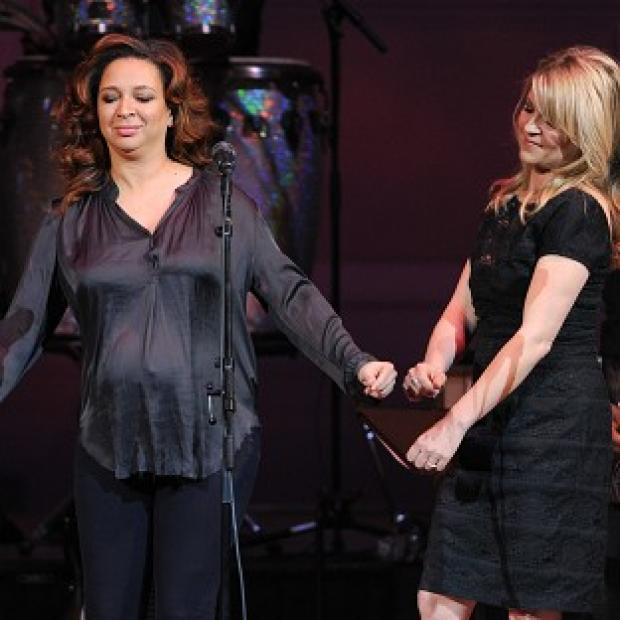 Maya Rudolph took part in the Prince tribute concert