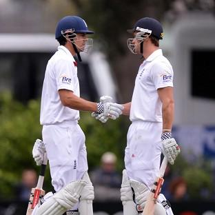 Alastair Cook and Nick Compton shared a record-breaking opening partnership in England's second innings