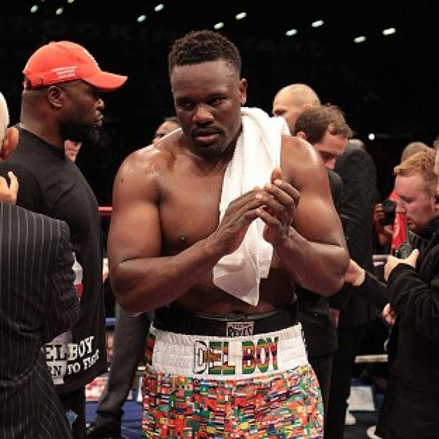 Dereck Chisora had to use a Luxembourg licence to fight last summer