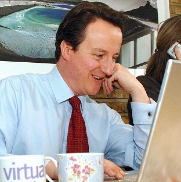 David Cameron has warned Tory MPs to be careful what they post on Twitter