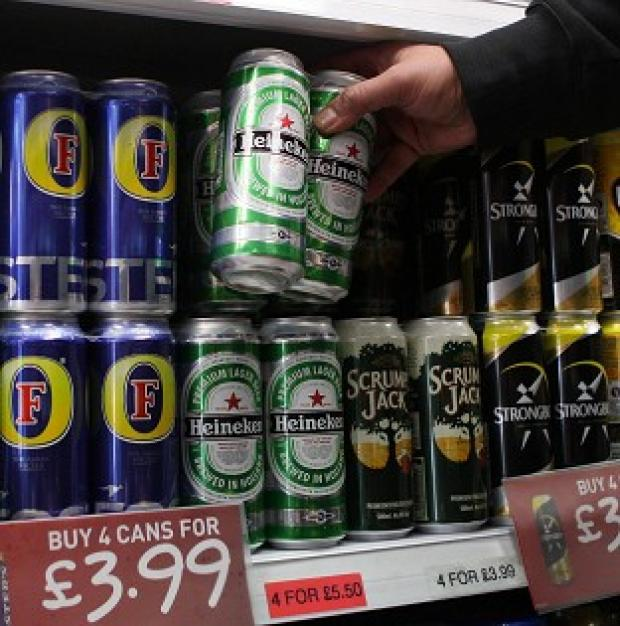 The Government has reportedly scrapped plans to set a minimum alcohol tariff
