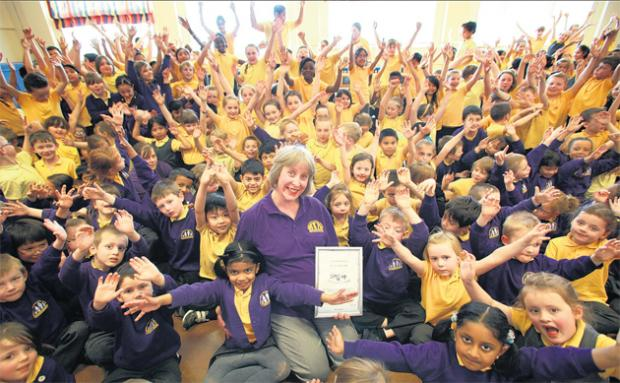 Platinum joy for Shirley Warren's prize singers