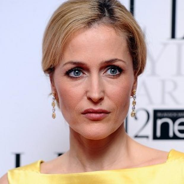 Gillian Anderson said she is 'in a box' in America