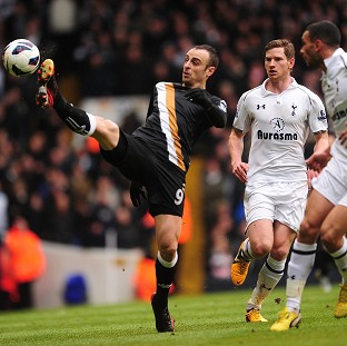 Berbatov downs slumping Spurs