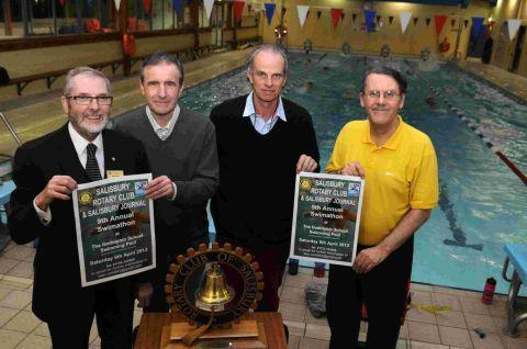 The launch of the swimathon