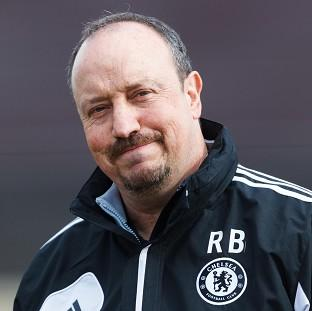 Rafael Benitez's Chelsea side will face Rubin Kazan in Moscow in their Europa League quarter-final