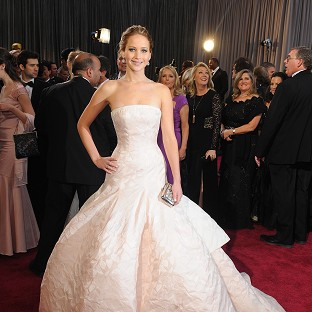 Jennifer Lawrence says she worries about what she might say on the red carpet