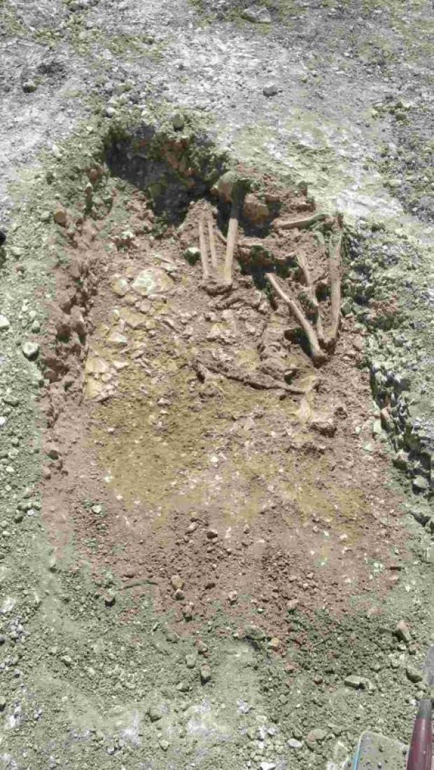 Salisbury Journal: Ancient skeletons uncovered in Amesbury