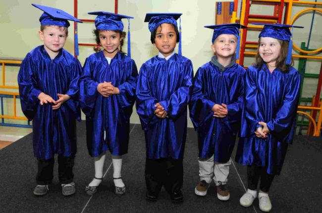 'Graduation' at St Osmund's Pre-School