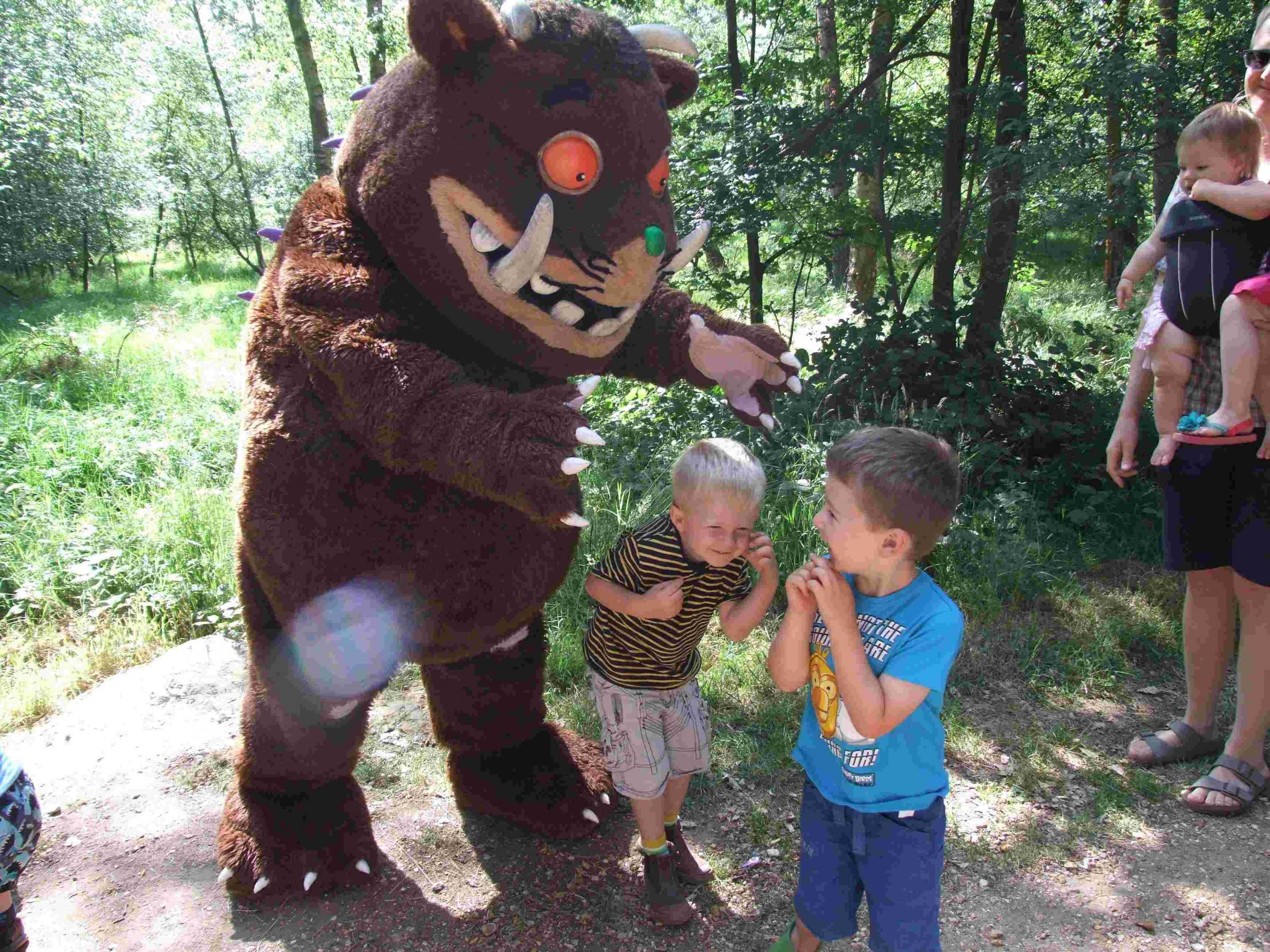 Gruffalo to vis