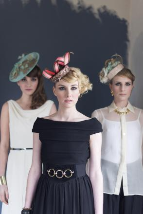 Madeleine Millinery fashion shoot in Semley. picture by Kaja Jangaard Photography.
