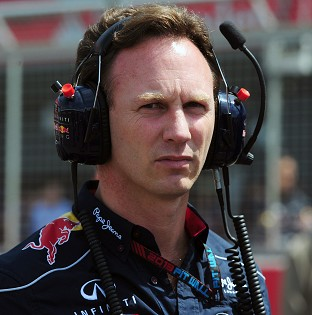 Christian Horner says his team will be 'pushing all the way to the chequered flag in Brazil'