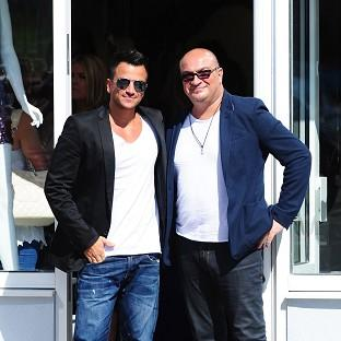 Peter Andre's brother, Andrew, died of kidney cancer last year