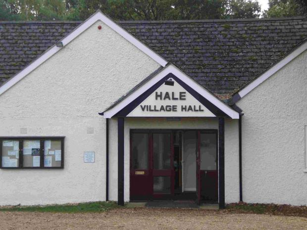 Salisbury Journal: Hale Village Hall