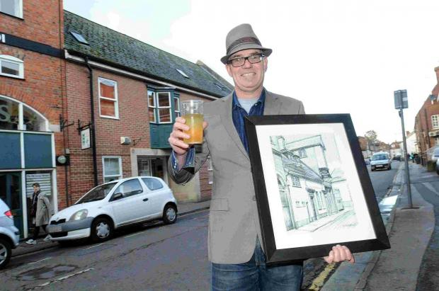 Artist Fred brings lost pubs back to life