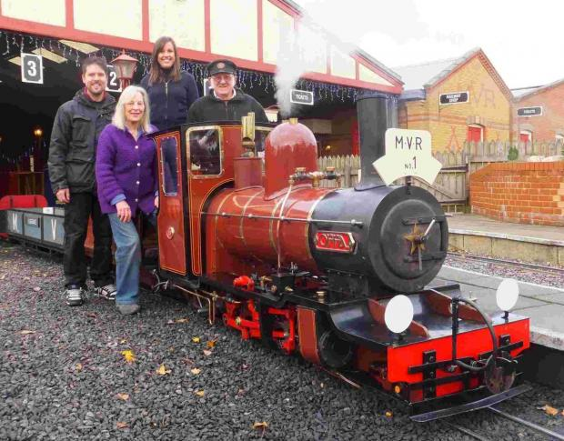 Train is the top attraction at Moors Valley
