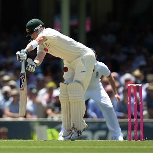 Brad Haddin hit 13 fours in a score of 75