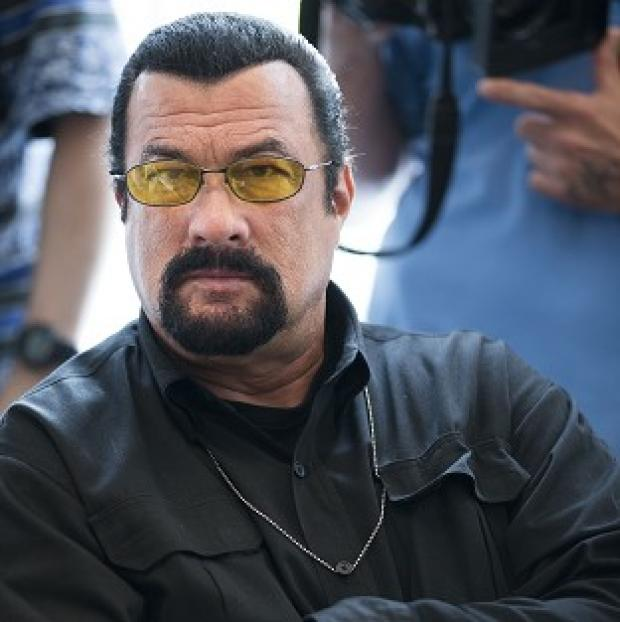 Salisbury Journal: Steven Seagal is considering a shot at Arizona's highest office