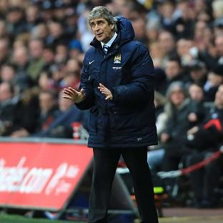 Manuel Pellegrini is not thinking beyond Manchester City's Capital One Cup semi-final against West Ham