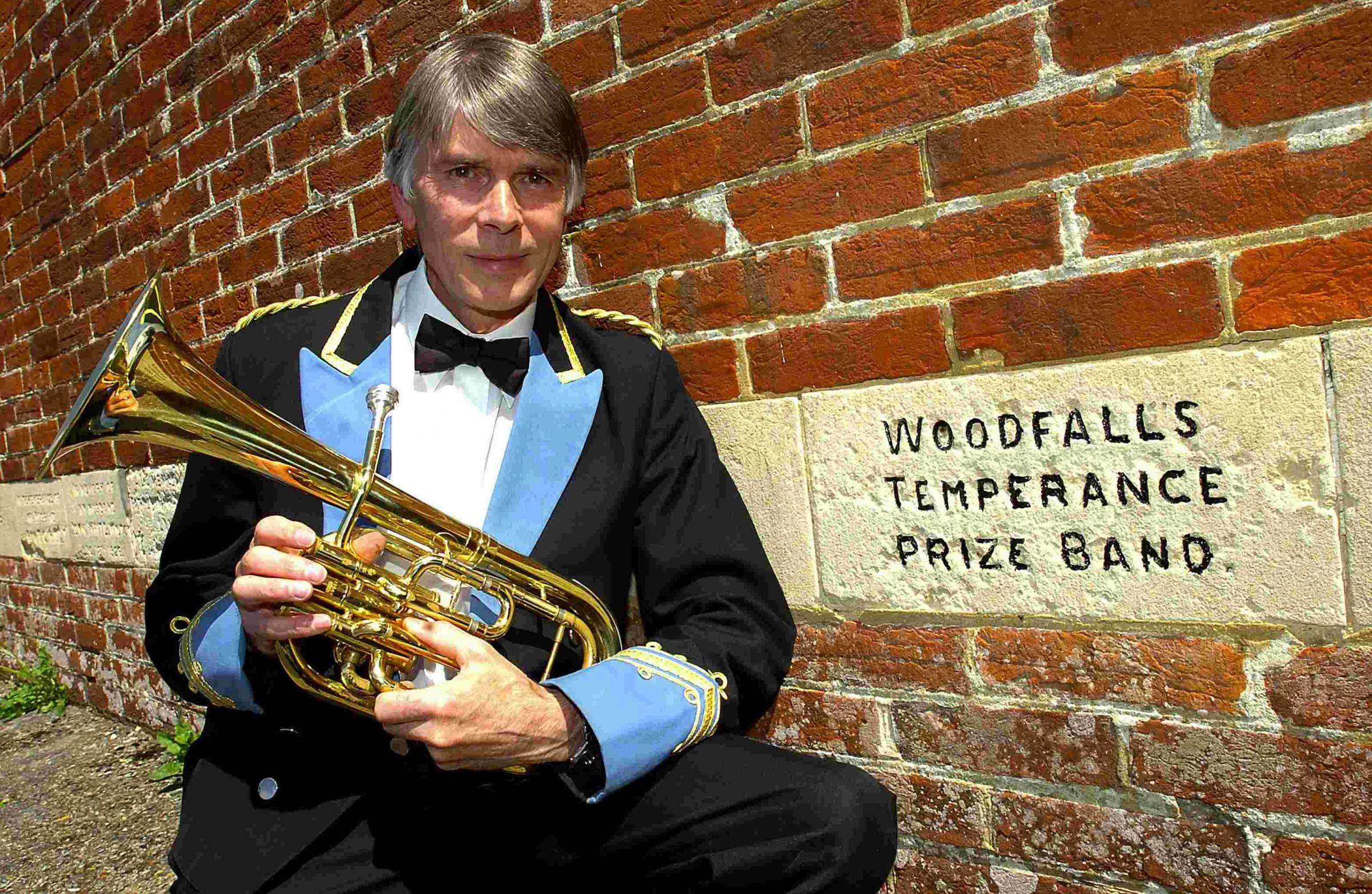 Brass band member marks 40 years