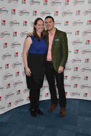 Slimming consultant meets comedian Paddy McGuinness