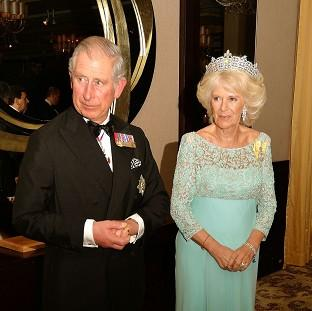 Salisbury Journal: Charles and Camilla were heading to the Hay-on-Wye Festival when the incident occurred