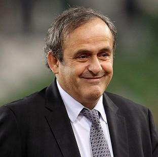 Michel Platini has hit out at senior FIFA officials