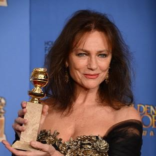 Salisbury Journal: Jacqueline Bisset with her Golden Globe (AP)