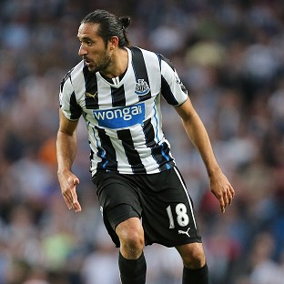 Jonas Gutierrez looks set to leave Newcastle