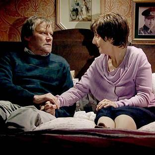 Salisbury Journal: Hayley and Roy Cropper, played by Julie Hesmondhalgh and David Neilson