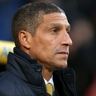 Chris Hughton is looking for his team to bounce back against Hull