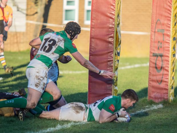 Depleted Salisbury RFC stay spirited at leaders