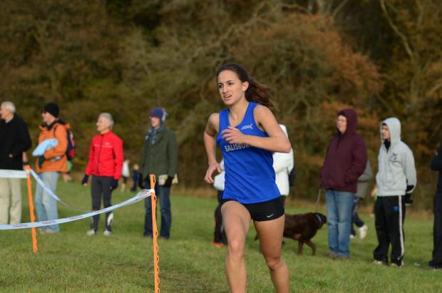 Alex stands out at cross country event