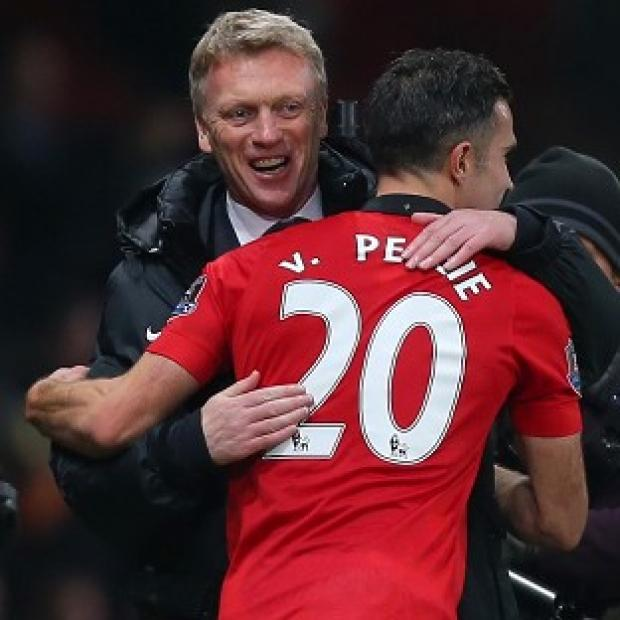 Salisbury Journal: Robin van Persie, right, believes David Moyes, left, will get it right at old Trafford