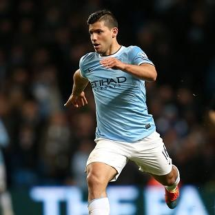 Sergio Aguero missed eight games through injury