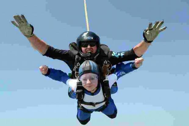 Salisbury Journal: Skydive for Air Ambulance