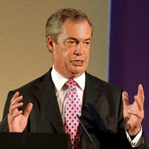 Salisbury Journal: Ukip leader Nigel Farage has received a boost from new opinion poll figures
