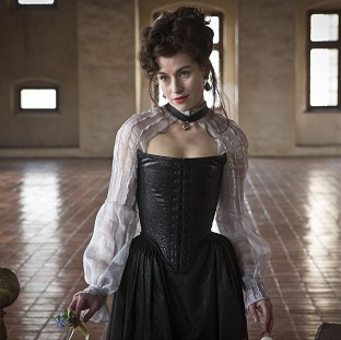 Maimie McCoy stars as villain Milady de Winter in The Musketeers