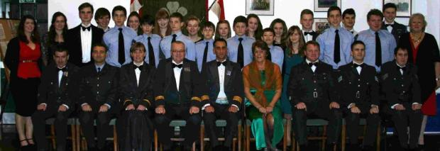 Salisbury Journal: Air cadet dinner