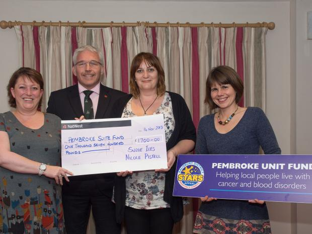 Rugby Club raises money for cancer unit