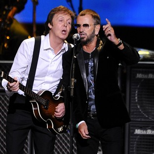 Sir Paul McCartney and Ringo Starr are reuniting for a Beatles tribute